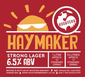 Roosters bottle - Haymaker